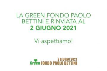 La Green Fondo Paolo Bettini è stata rinviata al 2 giugno 2021